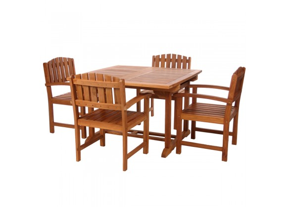 5-Piece Butterfly Dining Chair Set