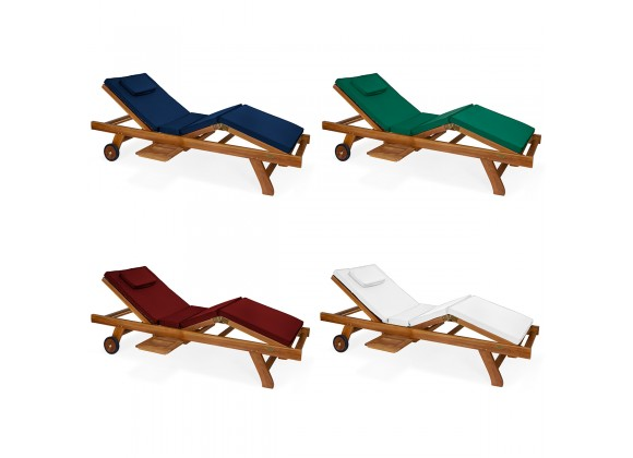 Multi-position Chaise Lounger - Cushion Variations