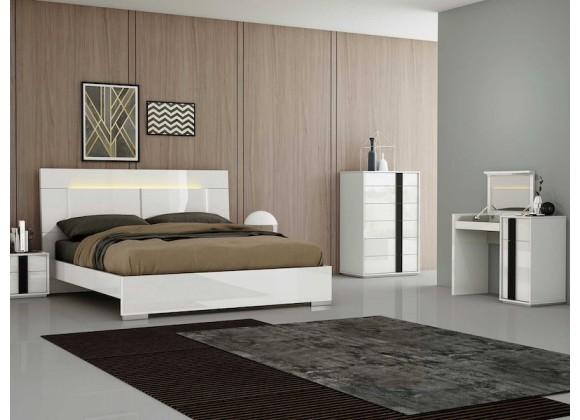 Whiteline Modern Living Kimberly Vanity Dresser