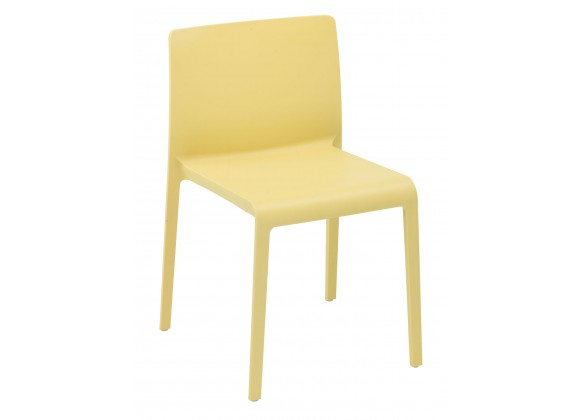 Injected Molded Polypropylene and Fiberglass Frame Chair - VOLT-S - Yellow