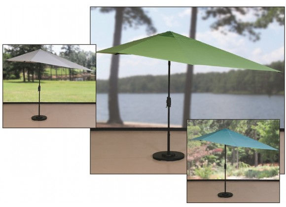 Shade Trends 16-ft Vizor Umbrella (Black Frame)
