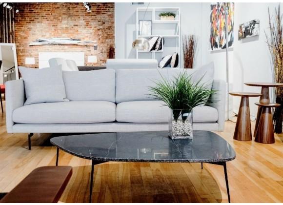 Flint Large Coffee Table Black - Lifestyle