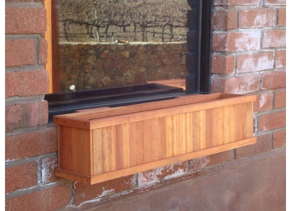 Best Redwood Window Planter Boxes