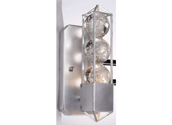 ZEEV Lighting Imbrium Wall Sconce - Silver Leaf