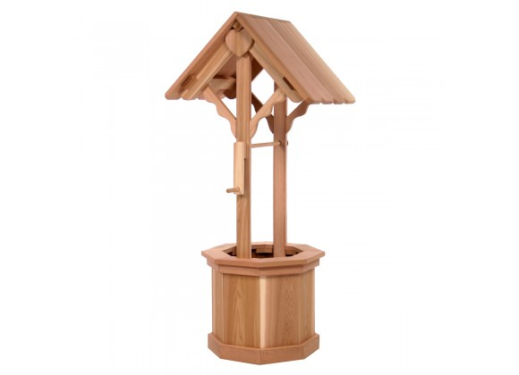All Things Cedar 5' Wishing Well