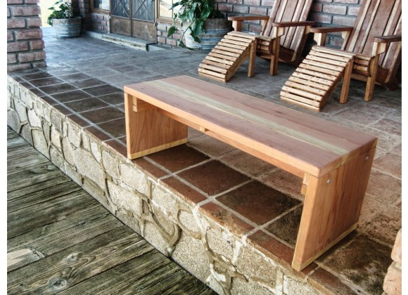 Solid Bench - Angled View