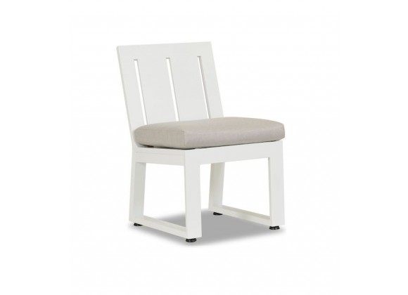 Sunset West Newport Armless Dining Chair - Perspective