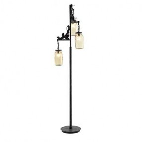 A Modern Floor Lamp Illuminates With Personality Home