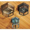 1131 Medium Outdoor Six-Sided Flush Mount Fixture with variations
