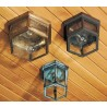 1132 Large Outdoor Six-Sided Flush Mount Fixture - In Variations