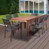 International Home Miami Amazonia Koningsdam 7 Piece Rectangular Patio Dining Set