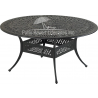 """Monarch Series 60"""" Round Dining Table"""