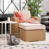 Lagoon Magnolia Rattan Club Chair - Lifestyle 2