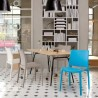 Sensilla Stack-able Dinning Chair - Lifestyle 1