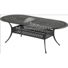 """84"""" x 42"""" Oval Dining Table"""