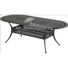 """84"""" x 42"""" Monarch Series Oval Dining Table"""
