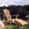 Adirondack Chair & Ottoman - Lifestyle