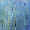 Circles Blue Wall Art