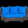 Sofa (Canvas Pacific Blue)
