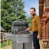 Memphis Grills Beale Street Cart With WiFi - 430 SS Alloy - Lifestyle