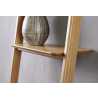 Currant Leaning Bookshelf - Carmalized