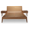 Sienna Eastern King Bed - Carmalized