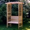 All Things Cedar Garden Arbor & Bench