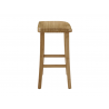 "Caramelized Tulip 26"" Counter Height Stool - Side"