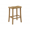 "Caramelized Tulip 26"" Counter Height Stool - Back Angle"