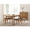 Laurel Extention Dining Table - Carmalized - Set