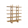 Greenington Caramelized Magnolia Shelf - Left Angle