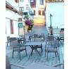 Ibiza Square Table 31 inch Dark Grey