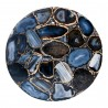 Shimmer Agate Accent Table - Table Top