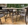 Tortuga Outdoor Marquesas 7pc set w/ arm chairs side view