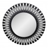 Radiate Mirror Black - Front