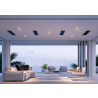 BROMIC PLATINUM SMART-HEAT ELECTRIC 3400W Black/White Heater , Lifestyle
